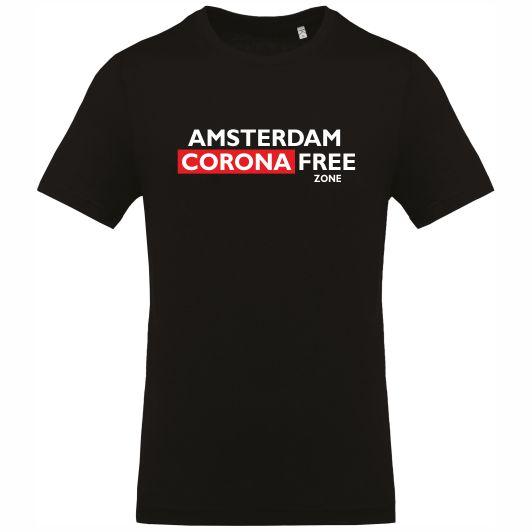 Amsterdam Corona Free zone T-shirt