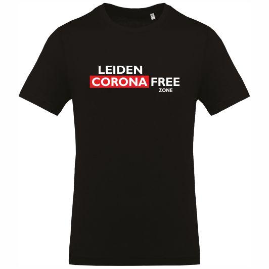 Leiden Corona Free zone T-shirt